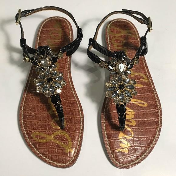 c7ddb48ffaca NEW Sam Edelman Grayson Jeweled Sandals   Size 7.5.  M 5c71d9fad6dc525167a07eae